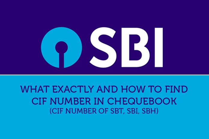 cif number sbt