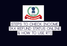 Check Income Tax Refund Status Online
