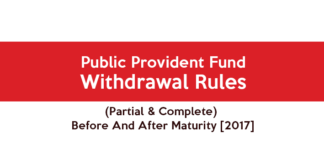 PPF Withdrawal Rules - Government Scheme and Insurance