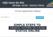 Track Voter ID Card Status