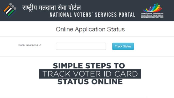 Track Voter ID Card Status