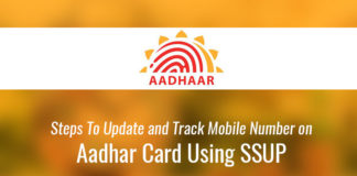 Update Mobile Number on Aadhar Card - Government Schemes