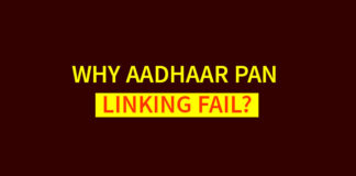 Why Aadhaar PAN linking Fail