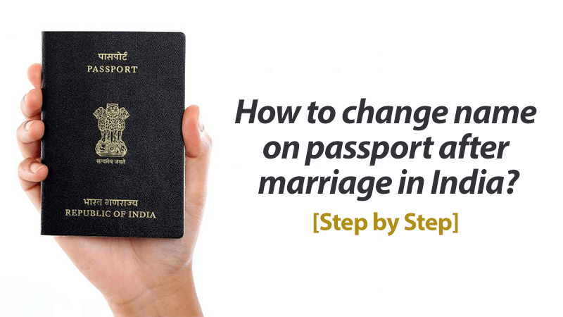 How to change name on passport after marriage in India featured image