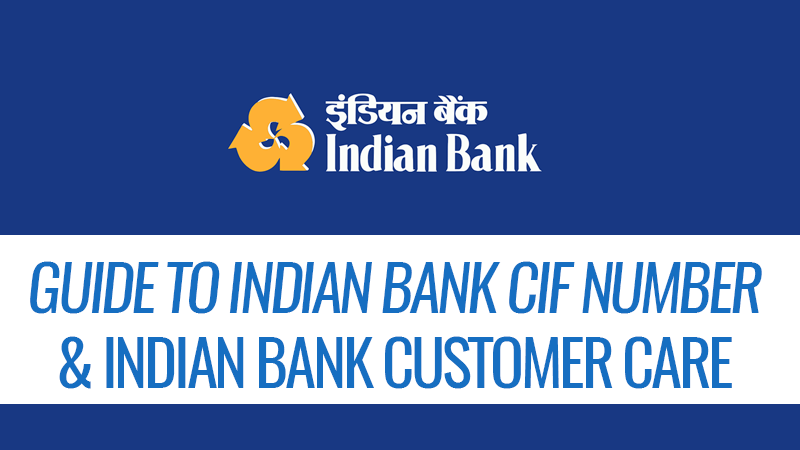 Indian bank cif number featured image